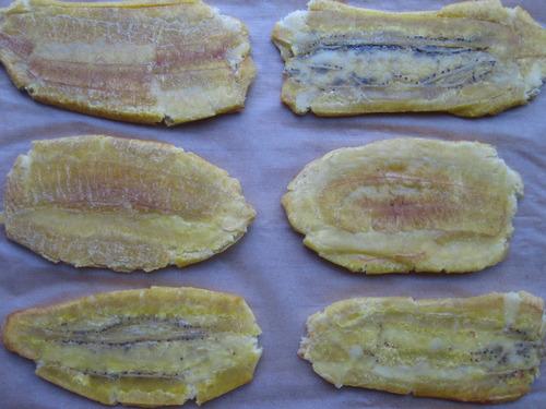 Plantains - Chorizo Burger, Estilo Jibarito