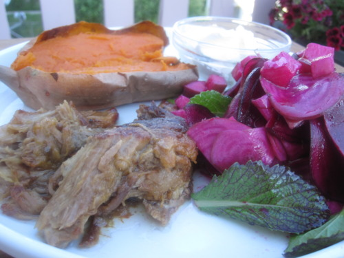 Citrus and Beer-Braised Pork Shoulder