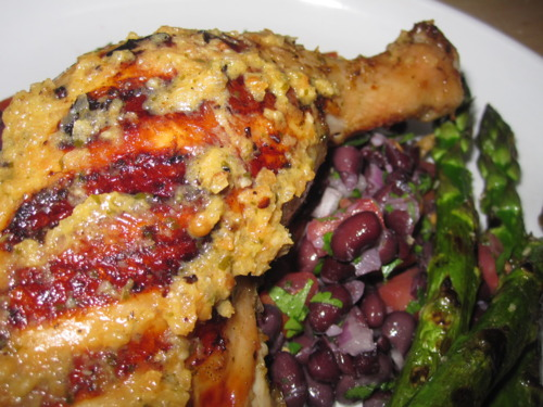Grilled Chicken with Escabeche-Style Marinade