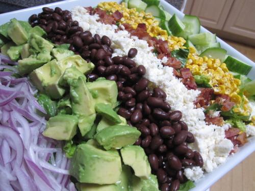 Mexican Caesar-Chop Salad Hybrid