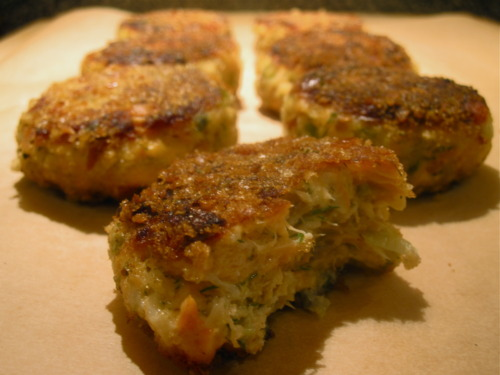 Simplest Salmon Cakes