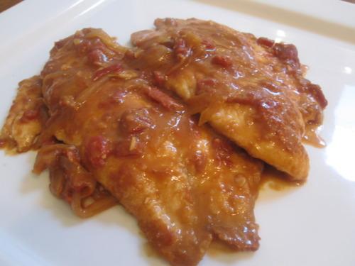 Malaysian-Style Tilapia with Tamarind Sauce