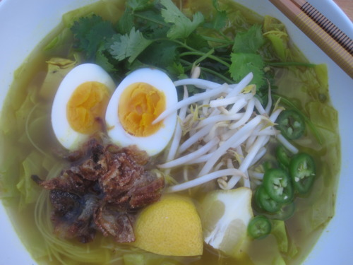 Chicken Noodle Soup, Indonesian Style