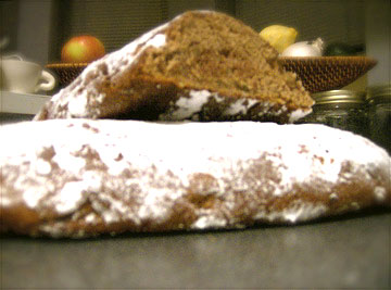 Whole Wheat Holiday Stollen