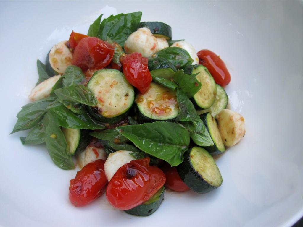 Grilled Caprese Salad